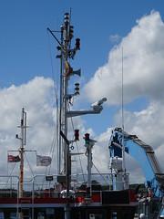 MTS TERRAMARE (MMSI:  235013884) Twin Screw Landing craft  Call Sign:  ZQWK3;  Work is beginning on a £30m scheme to protect a coastal railway at Dawlish (guyfogwill) Tags: 2019 8843329 abp associatedbritishports bateau bateaux boat boats cargovessel coastal coastline devon docks dschx60 england flicker fogwill gbr greatbritan guy guyfogwill harbour imo8843329 june marine maritime mmsi235013884 mtsterramare nautical port river riverteign shaldon sony southwest spring teignestuary teignbridge teignmouth teignmouthapproaches tq14 uk unitedkingdom vessel workboat marinetowageservices networkrail photo interesting absorbing engrossing fascinating riveting gripping compelling compulsive