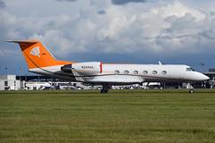 N344AA Gulfstream Aerospace G-IV at Glasgow International Airport on 9 June 2019 (Zone 49 Photography) Tags: aircraft bizjet biz jet aeroplane june 2019 glasgow scotland egpf gla abbotsinch airport gulfstream aerospace giv n344aa