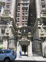 2019 The Dorilton Building luxury Residential Coop 1601 (Brechtbug) Tags: 2019 the dorilton building luxury residential coop west side manhattan new york city built from 1900 1902 opulent beauxarts style limestone brick exterior featuring monumental sculptures richly balustraded balconies three story copper slate mansard roof located 171 71st street broadway verdi square nyc 06152019 june