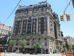 2019 The Dorilton Building luxury Residential Coop 1585 (Brechtbug) Tags: 2019 the dorilton building luxury residential coop west side manhattan new york city built from 1900 1902 opulent beauxarts style limestone brick exterior featuring monumental sculptures richly balustraded balconies three story copper slate mansard roof located 171 71st street broadway verdi square nyc 06152019 june