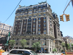 2019 The Dorilton Building luxury Residential Coop 1583 (Brechtbug) Tags: 2019 the dorilton building luxury residential coop west side manhattan new york city built from 1900 1902 opulent beauxarts style limestone brick exterior featuring monumental sculptures richly balustraded balconies three story copper slate mansard roof located 171 71st street broadway verdi square nyc 06152019 june