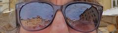 alles im Blick (renate117) Tags: spiegelung sonnenbrille lucca stadtansicht