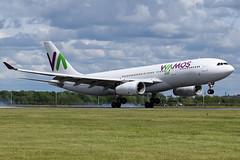Wamos Air Airbus A330-243 at Glasgow International Airport on 9 June 2019 (Zone 49 Photography) Tags: aircraft airliner aeroplane june 2019 glasgow scotland egpf gla abbotsinch airport eb plm wamos air airbus a330 330 332 200 243 eclnh