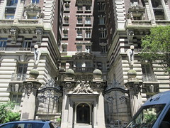 2019 The Dorilton Building luxury Residential Coop 1595 (Brechtbug) Tags: 2019 the dorilton building luxury residential coop west side manhattan new york city built from 1900 1902 opulent beauxarts style limestone brick exterior featuring monumental sculptures richly balustraded balconies three story copper slate mansard roof located 171 71st street broadway verdi square nyc 06152019 june