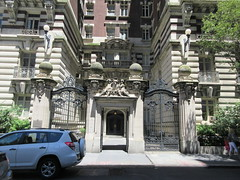2019 The Dorilton Building luxury Residential Coop 1593 (Brechtbug) Tags: 2019 the dorilton building luxury residential coop west side manhattan new york city built from 1900 1902 opulent beauxarts style limestone brick exterior featuring monumental sculptures richly balustraded balconies three story copper slate mansard roof located 171 71st street broadway verdi square nyc 06152019 june