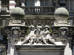 2019 The Dorilton Building luxury Residential Coop 1590 (Brechtbug) Tags: 2019 the dorilton building luxury residential coop west side manhattan new york city built from 1900 1902 opulent beauxarts style limestone brick exterior featuring monumental sculptures richly balustraded balconies three story copper slate mansard roof located 171 71st street broadway verdi square nyc 06152019 june