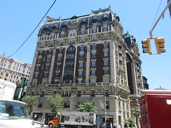 2019 The Dorilton Building luxury Residential Coop 1582 (Brechtbug) Tags: 2019 the dorilton building luxury residential coop west side manhattan new york city built from 1900 1902 opulent beauxarts style limestone brick exterior featuring monumental sculptures richly balustraded balconies three story copper slate mansard roof located 171 71st street broadway verdi square nyc 06152019 june