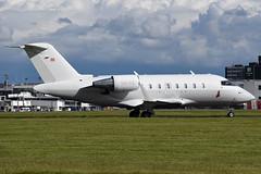 OE-IIX Canadair Challenger 605 at Glasgow International Airport on 9 June 2019 (Zone 49 Photography) Tags: aircraft bizjet biz jet aeroplane june 2019 glasgow scotland egpf gla abbotsinch airport bombadier canadair challenger605 oeiix