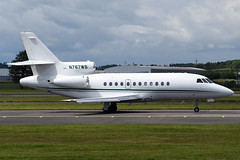N767WB Dassault Falcon 900 at Glasgow International Airport on 9 June 2019 (Zone 49 Photography) Tags: aircraft bizjet biz jet aeroplane june 2019 glasgow scotland egpf gla abbotsinch airport dassault aviation mystere falcon 900 n767wb