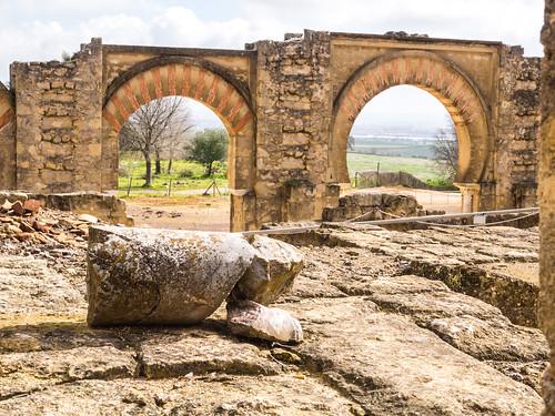 Behind The Great Portico at Madinat Al-Zahra