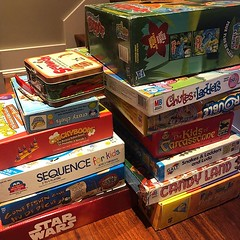 I have a fair size stack of kids' board games we no longer want. Anyone want any of them? Particular family favs were Crazy Chefs, Kids of Carcassonne & Candy Land. (Stv.) Tags: ifttt instagram phoneography