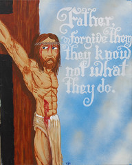 Tenth Station: Jesus is Crucified (lars hammar) Tags: stationsofthecross jesus lent openspacechurch