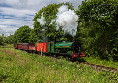 Tanfield Railway 15-6-2019 (KS Railway Gallery) Tags: tanfield railway legends industry gala uk steam gwr no12