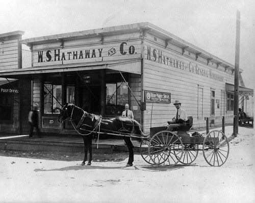 Banning - W S Hathaway and Co 1905