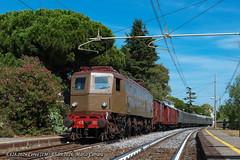 E428.202 Cervo - 03.09.2016 (Marco Carrara) Tags: e428 e428202 cervo fondazionefs elettrica storico stazione speciale sanbartolomeo historic bahn railway train trains