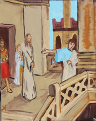 Third Station: Jesus is Condemned by the Sanhedrin (lars hammar) Tags: stationsofthecross jesus lent openspacechurch