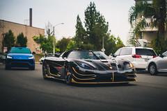 Phoenix (Noah L. Photography) Tags: koenigsegg agera rs phoenix black carbon fiber gold car sportscar supercar hypercar sweden swedish hingwalee carsandchronos walnut lamborghini urus nikon55mmf12ai