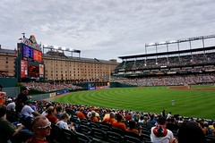 Camden Yards (Laurence's Pictures) Tags: baseball sports mlb camden yards baltimore orioles boston red sox field american league