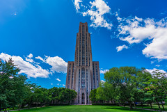 Cathedral of Learning - University of Pittsburgh, Pennsylvania (Tony Webster) Tags: 42story cathedraloflearning pennsylvania pittsburgh tower universityofpittsburgh building cathedral grass lawn skyscraper unitedstatesofamerica