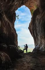 Hope or wait (samal photography) Tags: highway landscape beautiful valley cave people nature mountain summer kurdistan samaltofik outdoor adventure travel naturallight sky rocky tree desert