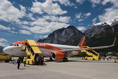 Innsbruck (Litost.) Tags: easyjet innsbruckairport mountains thealps