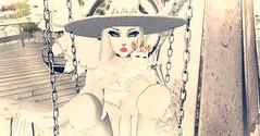 Unicorn Icecream (†SY ☢ELIZABETH) Tags: sl secondlife darksl fantasy fantasysl angel angelic pastel kawaii cute witch witchy