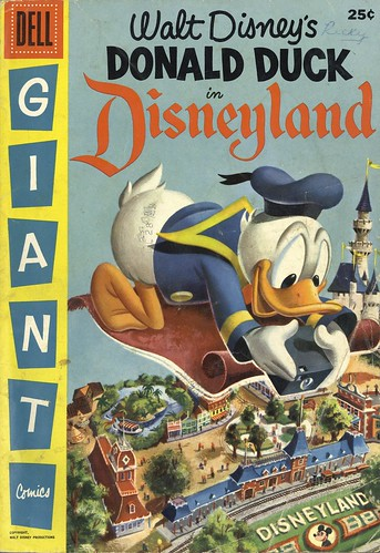 Donald Duck in Disneyland 01 - cover