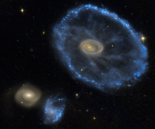 The Cartwheel Galaxy - HST