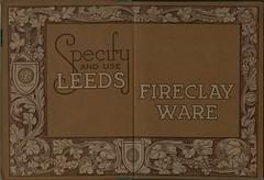Decorated Endpapers Leeds Fireclay Co. Catalogue [c.1928] (growlerthecat) Tags: tradecatalogue catalogue fireclay sanitaryware leeds oatesandgreen halifax