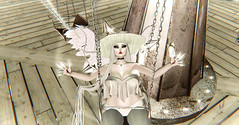 Carnival (†SY ☢ELIZABETH) Tags: secondlife sl darksl fantasy pastel fantasysl carnival angelic angel kawaii creepy