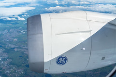 Dreamliner engine (Angus Duncan) Tags: boeing787 787 dreamliner b787 b789 7879 ge generalelectric jetengine planeengine flight flying hainanairlines airliner