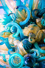Blues and Whites (Thomas Hawk) Tags: america california chihuly crockerartmuseum dalechihuly museum sacramento usa unitedstatesofamerica sculpture unitedstates fav10