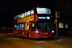 Arriva London HV237 on Route N242, Homerton Hospital (e400olympus) Tags: arriva london hv237 lk66gbz volvo b5lh wrightbus wright gemini 3