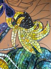 Sunflowers (Gila Mosaics n'stuff) Tags: gilamosaics mosaic commission flowers mexicansmalti workinprogress wip