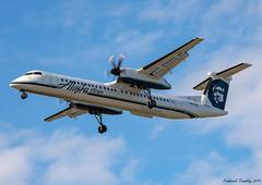 Alaska Horizon / Operated By Horizon Air / Bombardier Dash 8 Q400 / N417QX / YVR (tremblayfrederick98) Tags: yvr vancouver dash8 q400 dehavilland dhc8 alaska aviation avgeek alaskaair