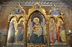 Enthroned Madonna (Ryan Hadley) Tags: bargello museonazionaledelbargello museum artgallery art florence italy europe worldheritagesite renaissance madonna mary triptych