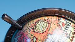 Miniature Globe (Patches Photo) Tags: macro miniature globe earth tabletop map navigation