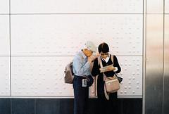 Wanderers (sleepingstreets) Tags: streetportrait streetphotography analogue colorplus200 pentaxmesuper