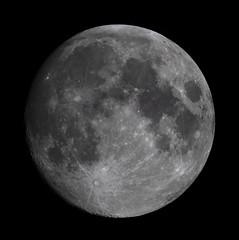 20190616 00-10UT Moon (Roger Hutchinson) Tags: moon london space astronomy astrophotography celestron celestronedgehd11 canon canonphotography canoneos6d