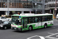 Kobe City Bus 013 (Howard_Pulling) Tags: kobe bus buses kobecitybus hyogo hyogoprefecture japan japanese