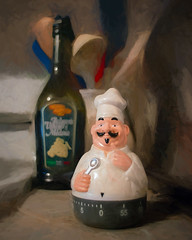 Ernie (David DeCamp) Tags: topazimpression2 textured kitchen cooking