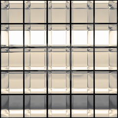 day 165 (Randomographer) Tags: project365 geometric square metal grid vent strong lines light shadow form shape color 165 365 vii 2019 shiny explore
