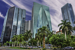 Another perspective of The Brickell Arch building. (Aglez the city guy ☺) Tags: miamifl miamicity architecture afternoon skycraper brickell building financialdistrict brickellarch urbanexploration walkingaround perspective dynamicperspective downtownmiami downtown outdoors
