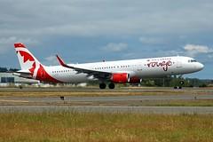 C-GHQI@Victoria 14Jun19 (Spotter Tim - 2) Tags: cghqi airbus a321 aircanada aircanadarouge victoria