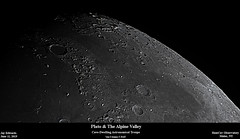 PlatoAndAlpineValley_20190611_HomCavObservatory (homcavobservatory) Tags: homcav observatory crater plato lunar alpine valley 8inch f7 criterion newtonian reflector zwo asi290mc losmandy g11 mount gemini 2 control system moon astronomy astrophotography