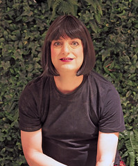 Backstage (justplainrachel) Tags: justplainrachel rachel cd tv crossdresser transvestite trans burlesque performer makeup tshirt sydney stage selfie selfportrait