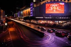 Siam Long Exposure (TigerPal) Tags: bangkok thailand mbk lighttrails longexposure composite lunarnewyear shopping traffic thai siam travel trip vacation