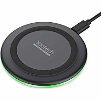 Yootech Wireless Charger Qi-Certified 7.5W Wireless Charging Compatible with iPhone XS MAX/XR/XS/X/8/8 Plus,10W Compatible Galaxy S10/S10 Plus/S10E/S9,5W All Qi-Enabled Phones(No AC Adapter) (kaleemshahbaz) Tags: wireless charger charging compatible 75w qicertified httpsimagesnasslimagesamazoncomimagesi511kd9f5sflacul200sr200 200jpgyootech all with galaxy adapter plus xs ac iphone 5w 10w qienabled s10s10 maxxrxsx88 pluss10es9 phonesno