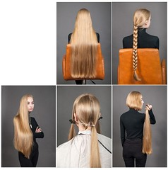 aryt (Haarfert) Tags: longhair longhaircut haircut cuthair chop chopped longtoshort rapunzel brunette blonde ponytail braid makeover hairstyle model shave headshave bald comb