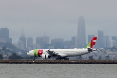 TAP Air Portugal A330 at San Francisco (photo101) Tags: airbus sfo tap
